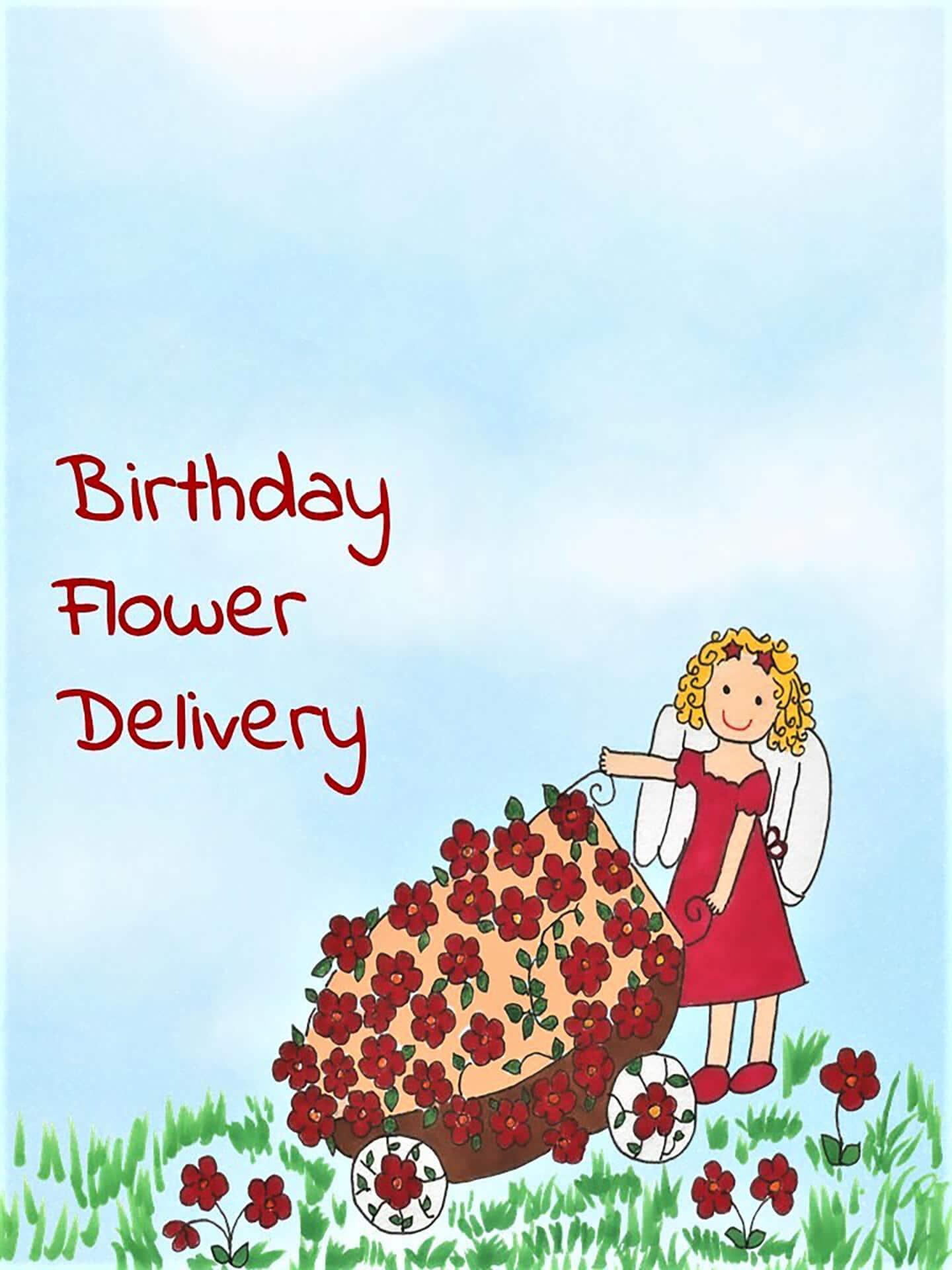 Birthday Flower Delivery eCard