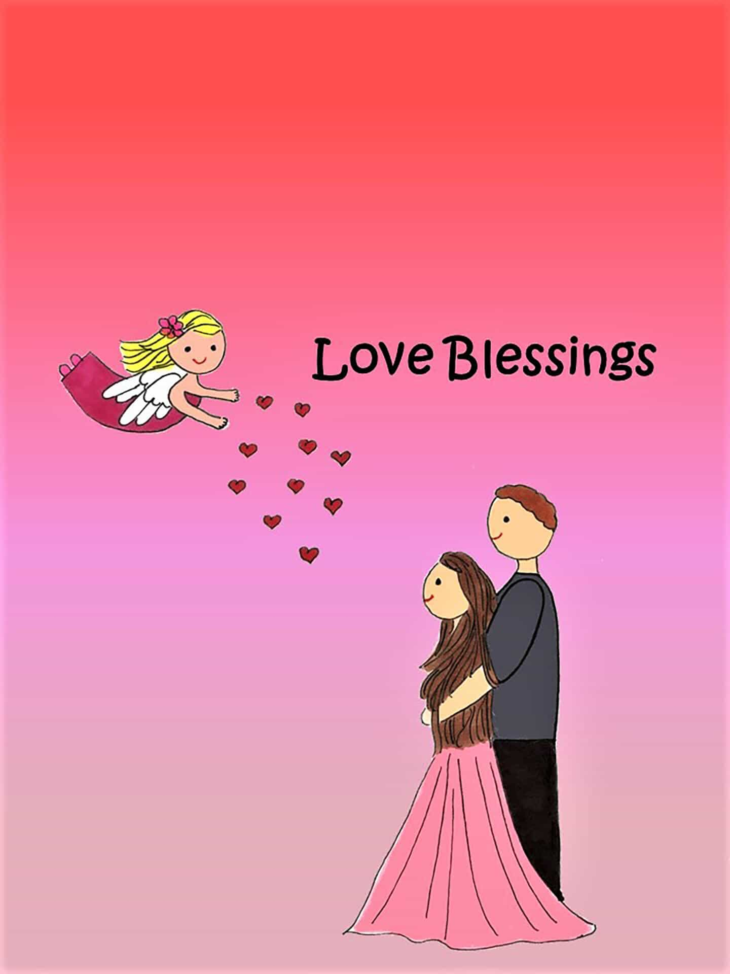 Love Blessings eCard
