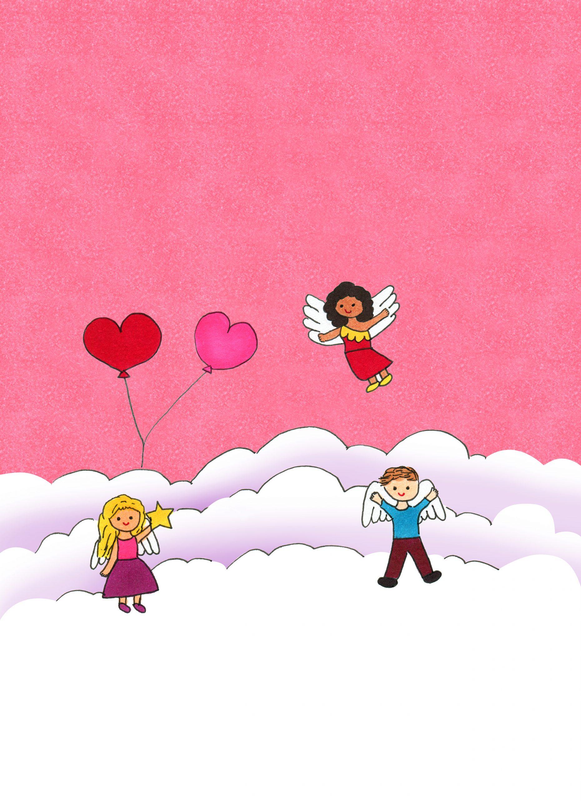 Angel Birthday Celebration eCard
