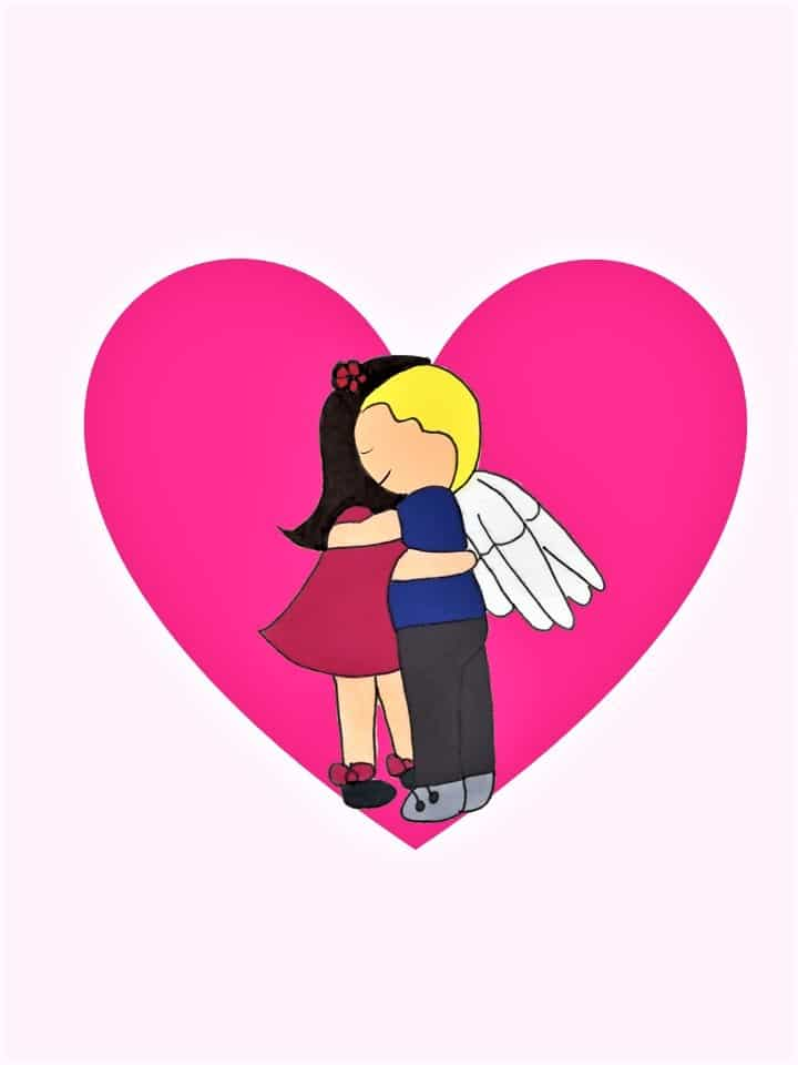 Angel Hug eCard