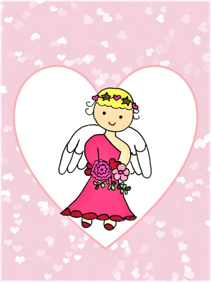 Sweet Little Angel eCard