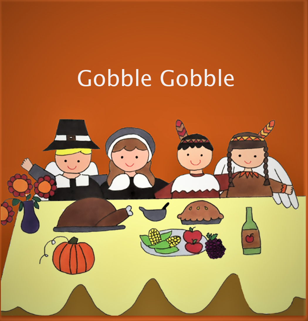 Thanksgiving Gobble Time eCard