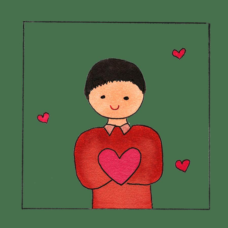 animated classmate Valentine's Day ecard