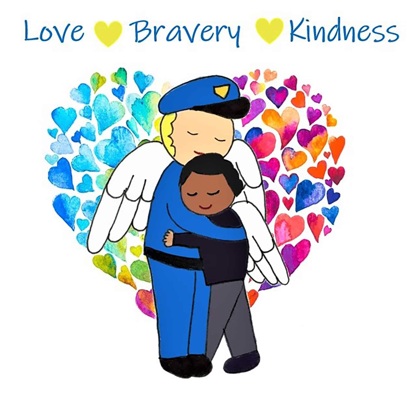 Love Bravery Kindness eCard