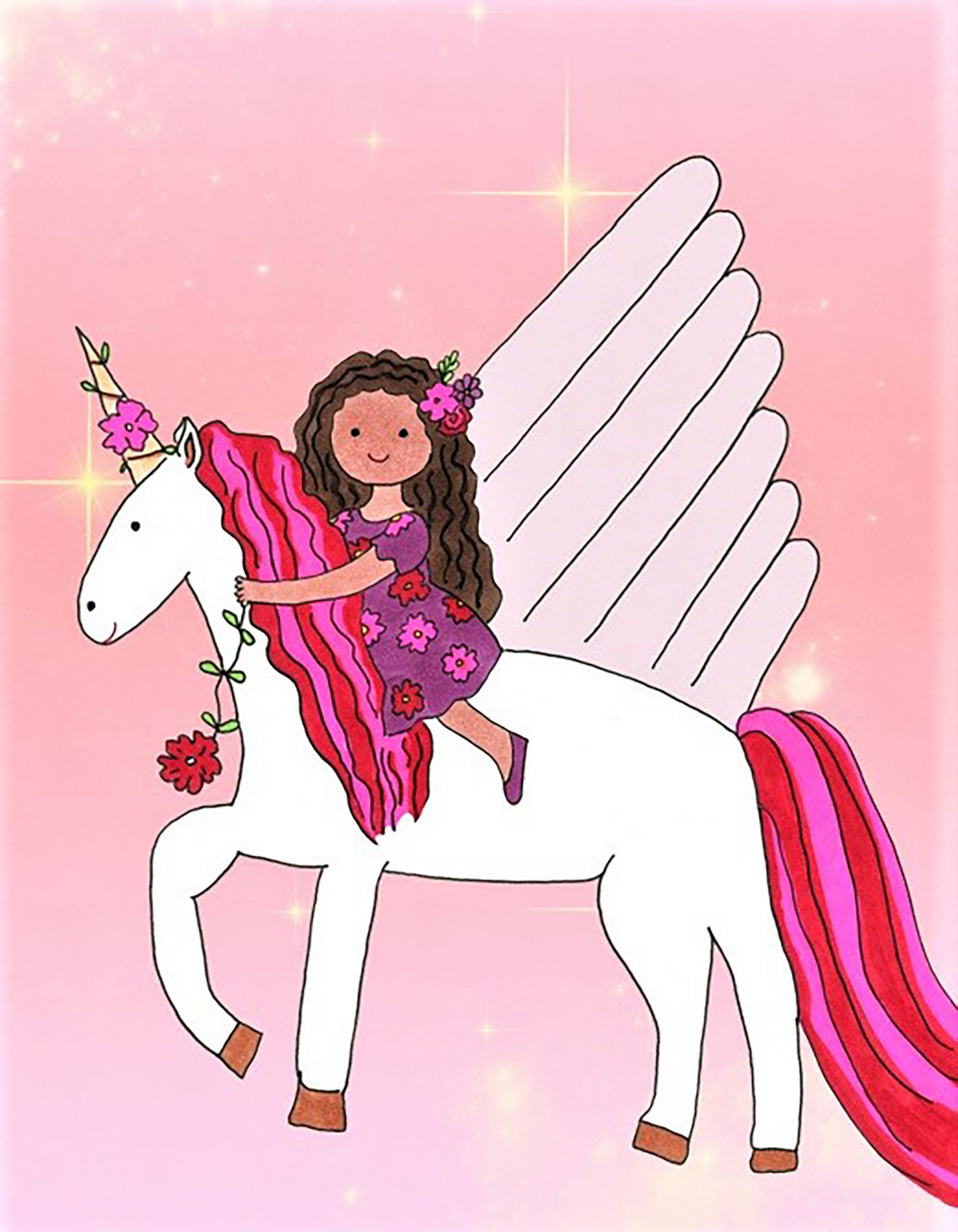 Unicorn Sweetheart eCard