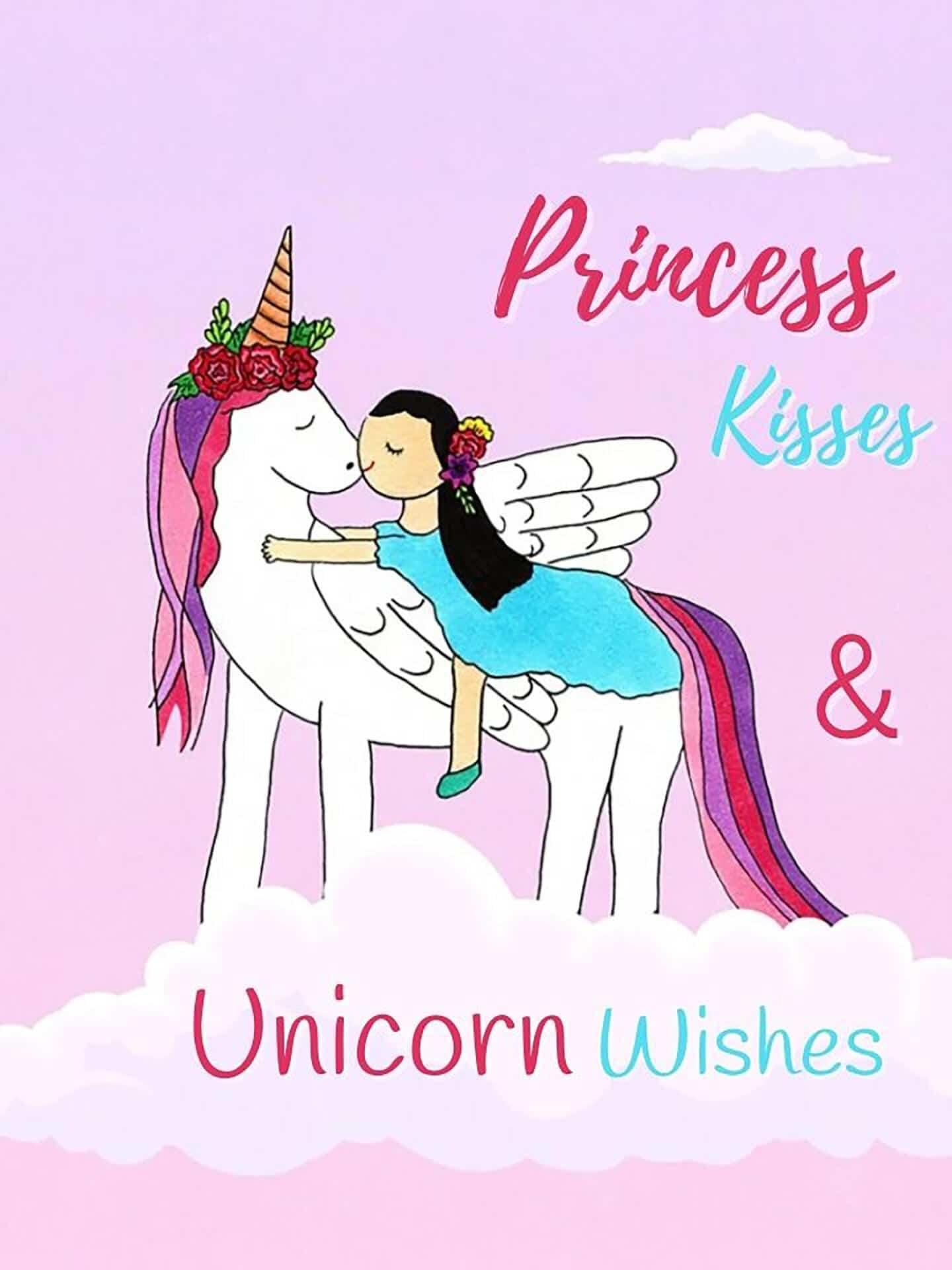 Princess Kisses & Unicorn Wishes eCard