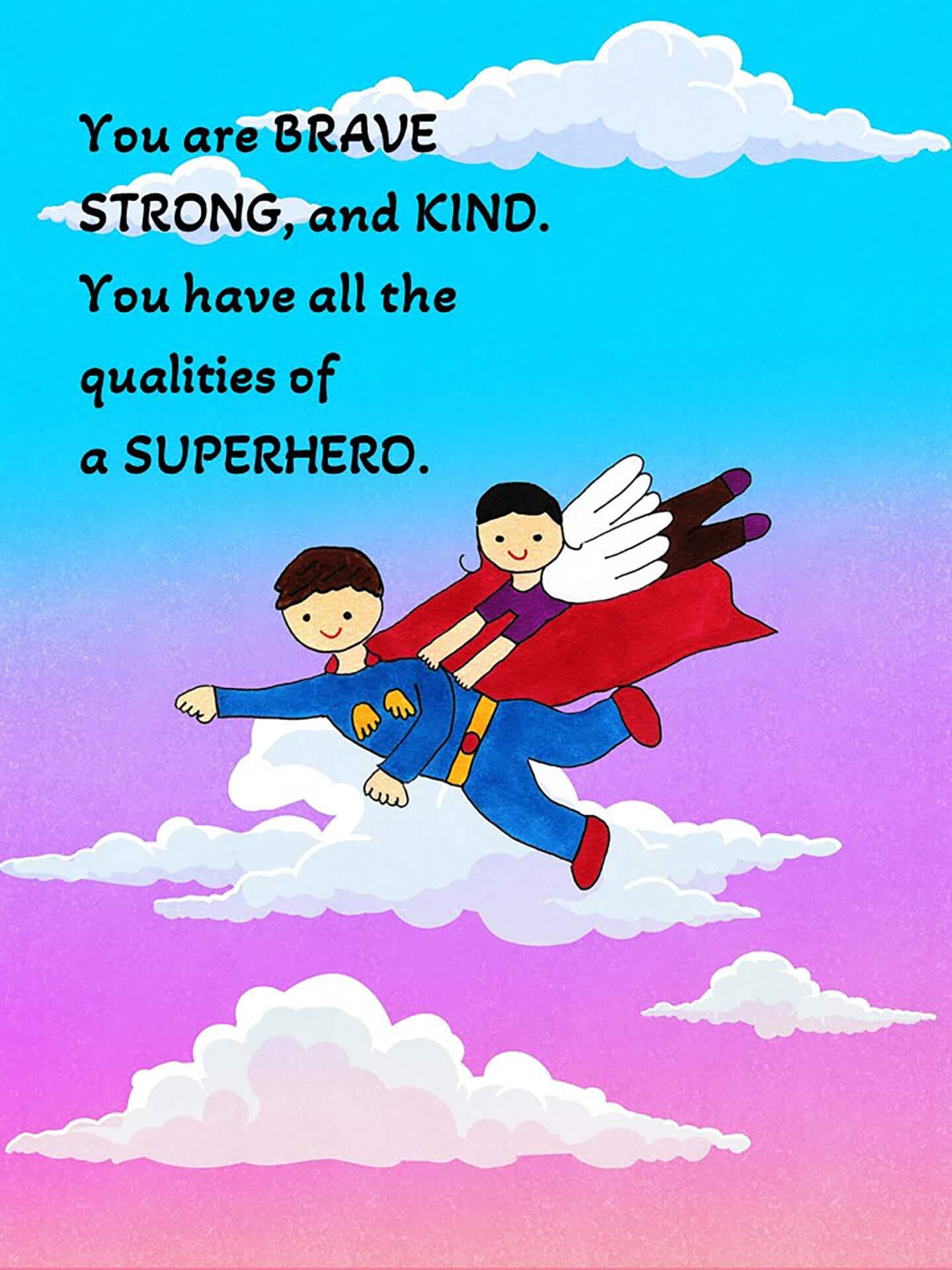 Superhero eCard
