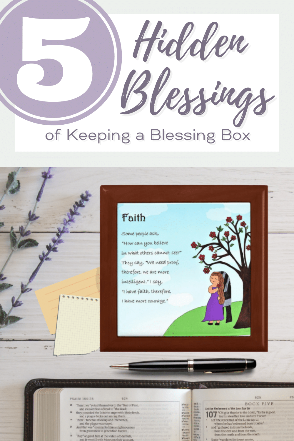 5 Hidden Blessings of Keeping a Blessing Box