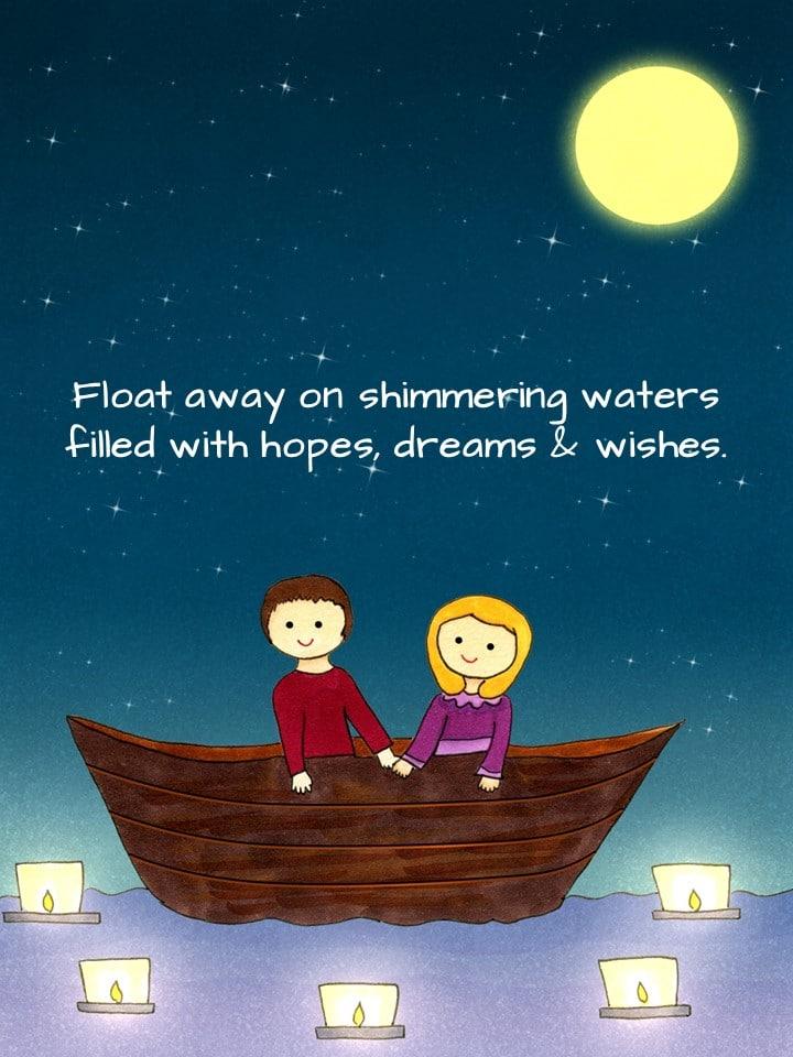 Shimmering Waters eCard